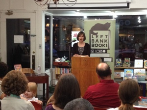 Speaking at Left Bank Books